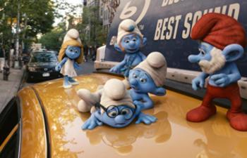 Box-office québécois : Les Schtroumpfs toujours en tête