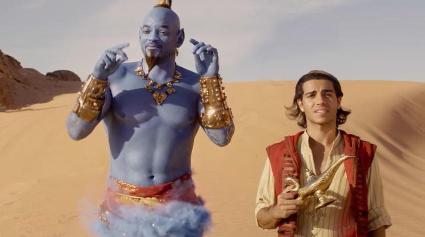 Découvrez la bande-annonce officielle en français du nouveau Aladdin