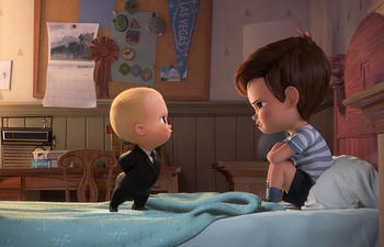 Box-office nord-américain : The Boss Baby domine à nouveau