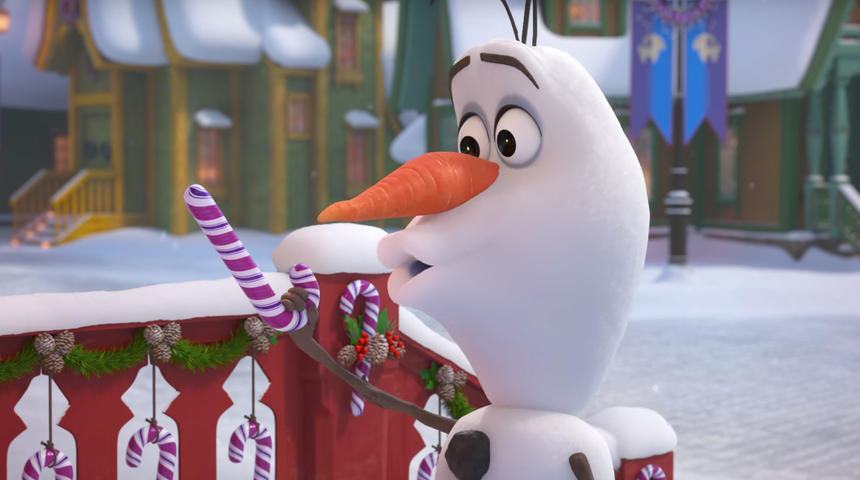 La Reine des Neiges : Disney offre un court-métrage magique à Olaf