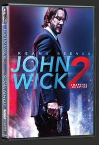 DVD du film John Wick : Chapitre 2