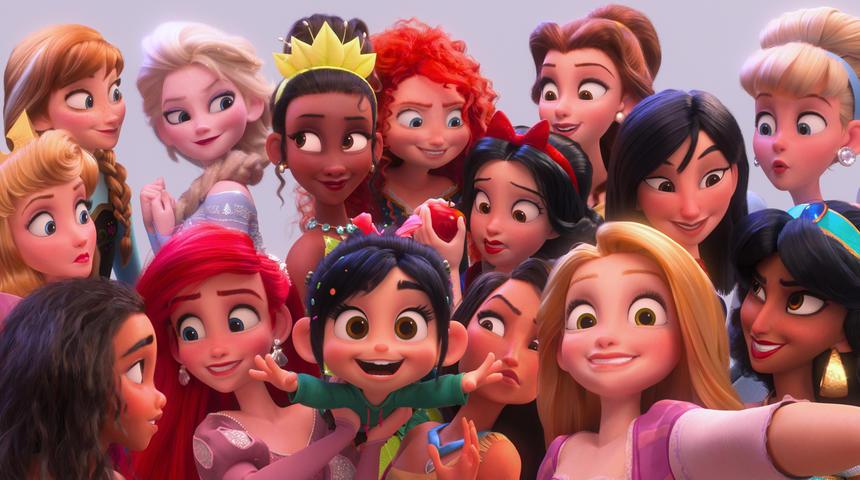 Vanellope devient officiellement une princesse de Disney