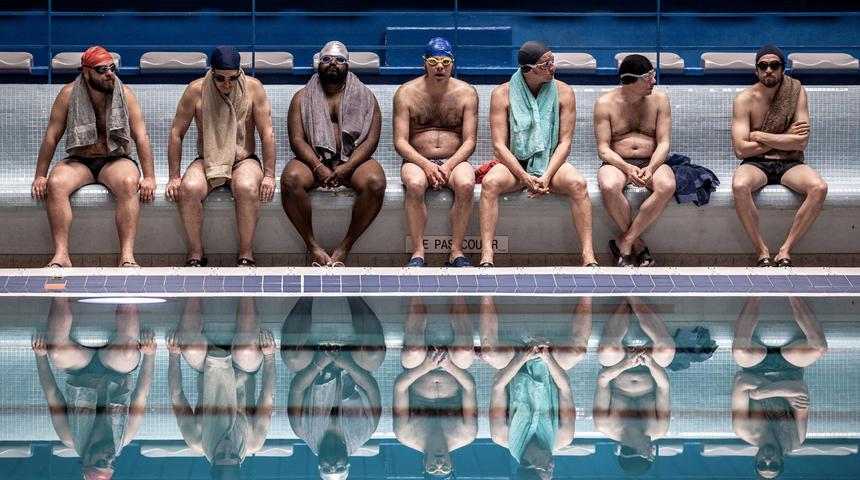 Photos : Une première dans une piscine publique à Montréal pour Le grand bain