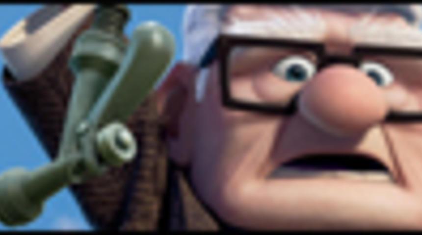 Affiche québécoise du film d'animation Là-haut