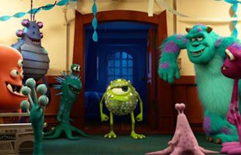 Box-office québécois : L'université des monstres conserve le premier rang