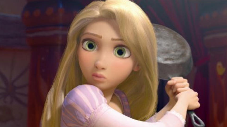 Pré-bande-annonce du film d'animation Tangled