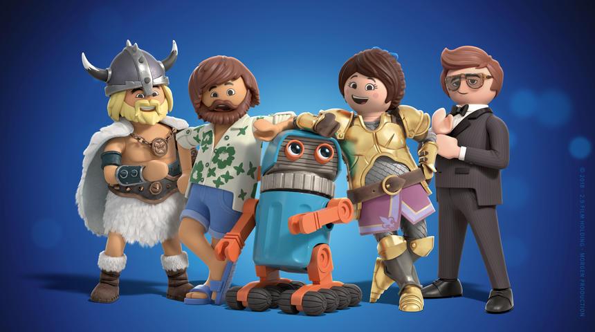 Sorties à la maison : Playmobil: The Movie