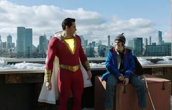 Box-office nord-américain : Shazam! toujours en tête