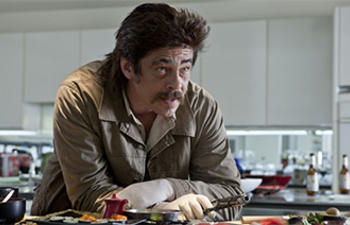 Benicio Del Toro dans Guardians Of The Galaxy