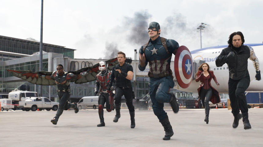 Box-office nord-américain : 72,5 millions $ de plus pour Captain America: Civil War