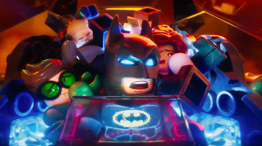Une nouvelle bande-annonce hilarante pour The Lego Batman Movie