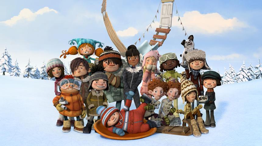 Voici la bande-annonce officielle du film d'animation La course des tuques