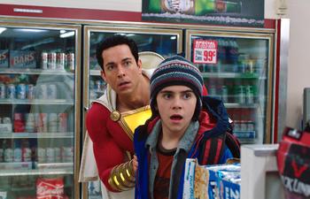Box-office nord-américain : Shazam s'empare de la première place