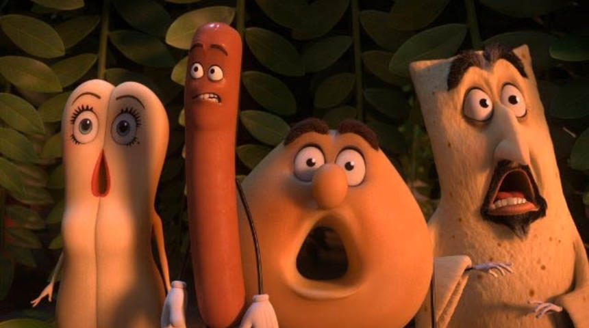 Sorties Blu-Ray et DVD : Sausage Party