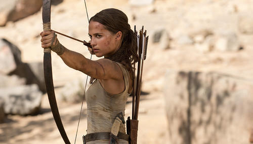 Box-office nord-américain : Lara Croft ne peut supplanter Black Panther
