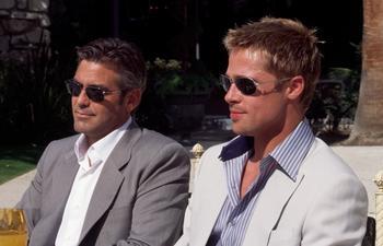 Bientôt une réunion à l'écran pour Brad Pitt et George Clooney