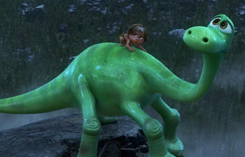 Bande-annonce officielle du film d'animation The Good Dinosaur