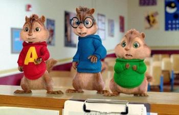 Les Chipmunks seront de retour en 3D