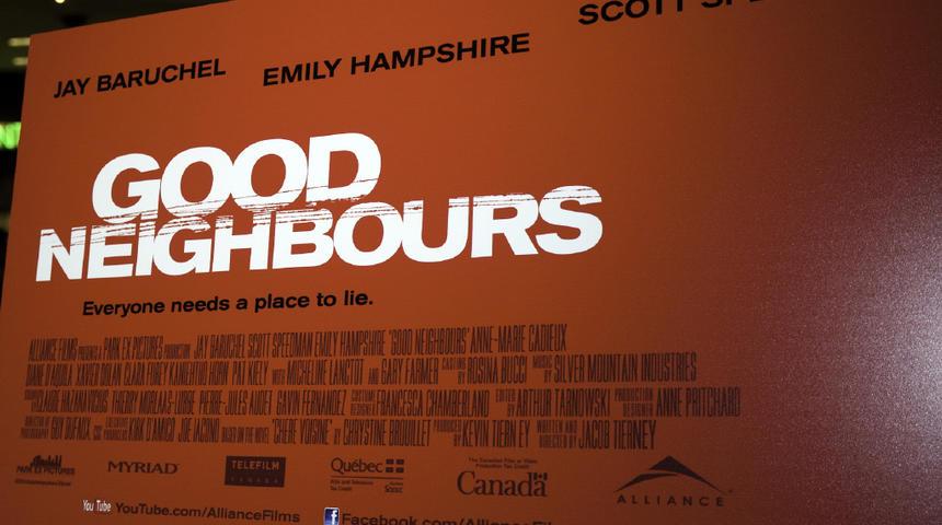 Première du film Good Neighbours