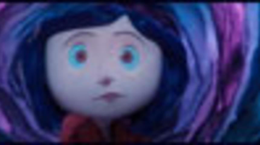 Bande-annonce en français du film d'animation Coraline