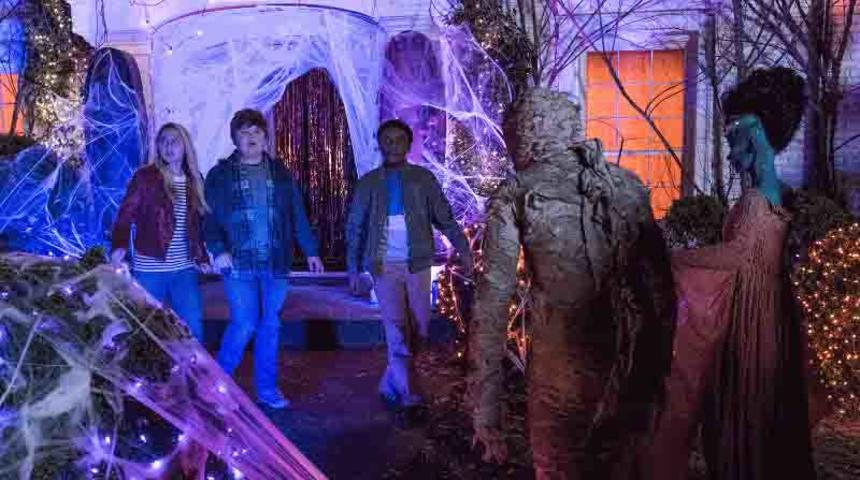 Une bande-annonce officielle pour la comédie d'épouvante Goosebumps 2: Haunted Halloween