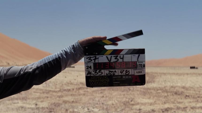 Entrez dans les coulisses de Star Wars: The Force Awakens grâce à la nouvelle vidéo