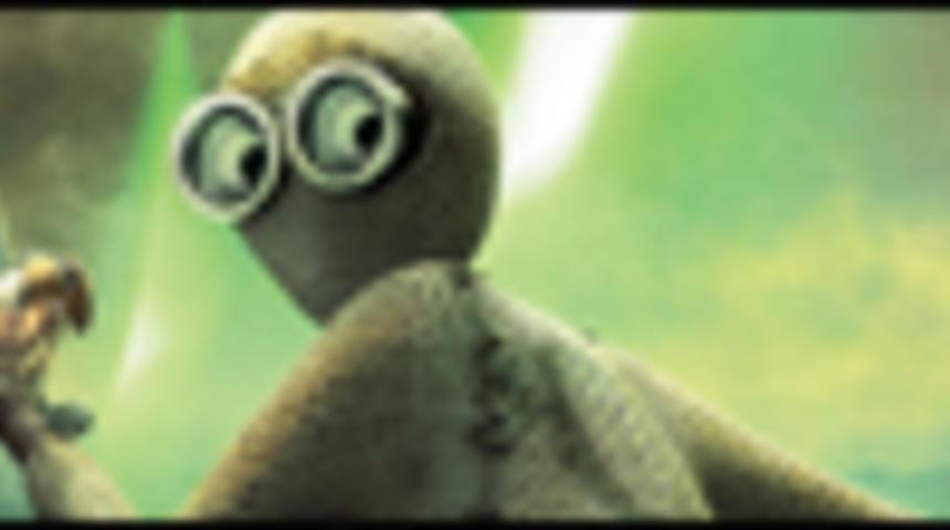 Primeur : Affiche en français du film d'animation Numéro 9