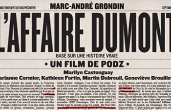 Affiche animée de L'affaire Dumont