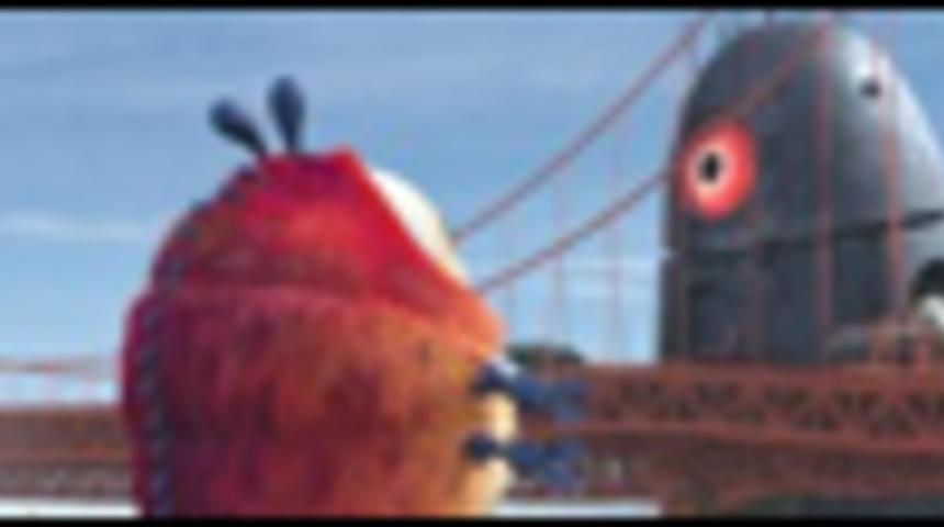 Bande-annonce en français du film d'animation Monstres contre aliens